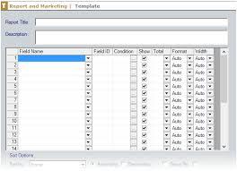 field report template 1505 creating custom report templates 0553