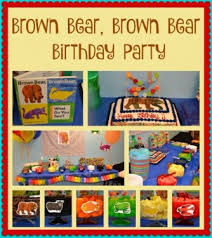 brown birthday party beary brown party brown birthday brown and