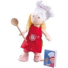 cuisine haba miss cuisine doll dress up set haba miss cuisine play set by haba