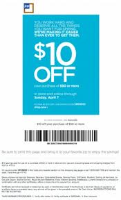 repin and like this printable coupon jcpenney coupons 10 off 50