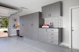Garage Interior Design Pewter Garage With Workbench Angle 2012 Jpg