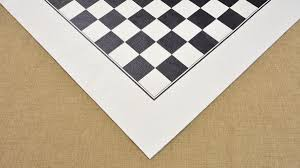 wide leather roll up chess board in black u0026 off white color 21