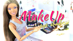How To Make Doll Kitchen Diy How To Make Doll Make Up Eye Shadow Handmade Crafts