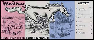 1994 ford mustang owners manual 1965 ford mustang owner s manual reprint