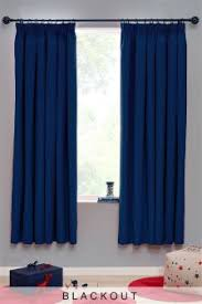 Navy Blackout Curtains Curtains And Blinds Curtains Blue Black Out Blackout Next Usa
