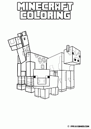 minecraft coloring pages pdf kids coloring