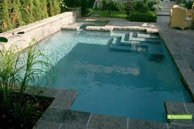 Deep Backyard Pool by Pools On A Sloped Lot It U0027s Hard To Get Bored In This Backyard