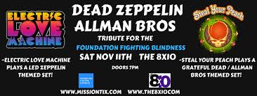 Foundation For Fighting Blindness Dead Zeppelin Allman Bros Tribute For The Foundation Fighting