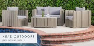 Patio Modern Outdoor Patio Furniture Home Designs Ideas - Modern outdoor sofa sets
