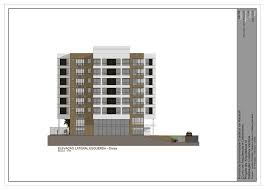 side elevation residencial building left side elevation by andrespinheiro on