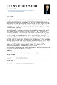 Ceo Sample Resume by Chairman And Ceo Resume Samples Visualcv Resume Samples Database