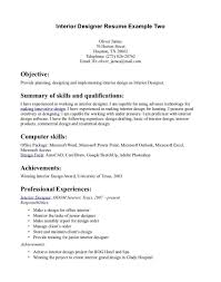 sle resume format word interior designer resume sles design student sle fascinating
