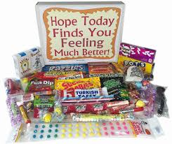 get well soon gift ideas woodstock candy feel better soon care package for