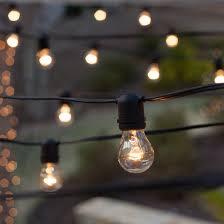 Patio Light Outdoor Patio String Lights 54 U0027 E26 Commercial Patio Light