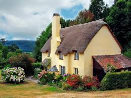 cottage house gingerbread cottage house beautiful landscape billion estates