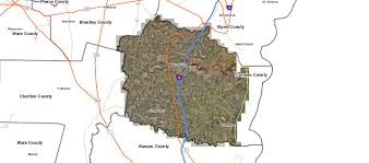 Ga Counties Map Wooten Land Sales