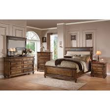 Acme Living Room Furniture by Acme Arielle Eastern King Bed With Storage In Slate U0026 Oak Ac