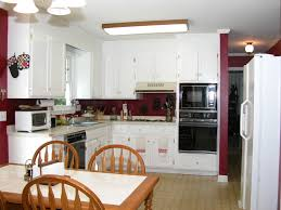 splendid white u shaped modern kitchen design combined with