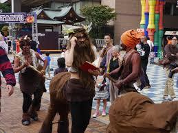 Centaur Halloween Costume October 2014 Mantaiko Fukuoka