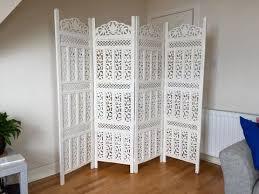 artesia designer 2 panel wodoen partition room divider wooden