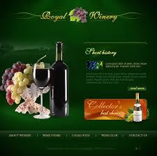 Kosher Champagne Website Template 14780 Royal Winery Company Custom Website