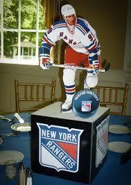 New York Themed Centerpieces by Ny Rangers Photo Cube Centerpiece Hockey Theme For Pamela