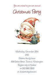 free printable christmas open house invitation templates holiday