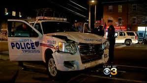 septa transit police vehicle involved in north philadelphia crash