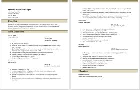 car driver resume sample