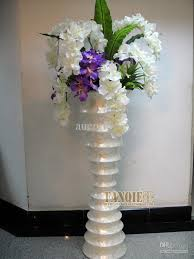 large floor vase set artificial flower modern fashion flower steel