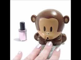 cute monkey shaped manicure nail polish blower dryer youtube