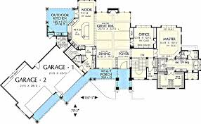 Country House Plans With Open Floor Plan Floor Design Country House S With Open Nature French Plans Plan