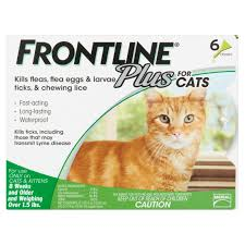 frontline plus flea and tick treatment for cats and kittens 6