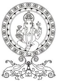 printable coloring pages hindu mythology ganesh gods and