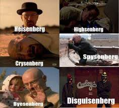 Heisenberg Meme - now say my name meme by giammy28 memedroid