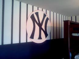 wall idea for new york yankees themed man town baby frank men cave