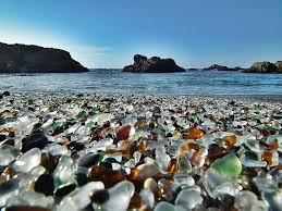 glass beach beautiful trash sea glass beaches science as leisure