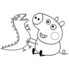 15 free printable peppa pig coloring pages pig party