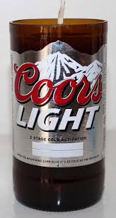 coors light gift ideas coors light beer for a rocky mountain high repurposed bottles now a