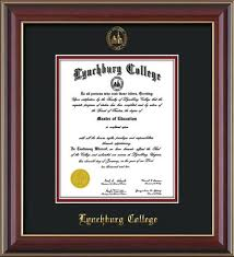 college diploma frame lynchburg college diploma frame che lacquer w lc seal black on