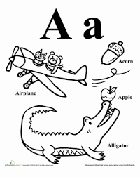 words that start with a z coloring pages education com