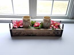 amazon com rustic reclaimed wood centerpiece box horseshoes