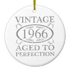 vintage 50th birthday ornaments keepsake ornaments zazzle