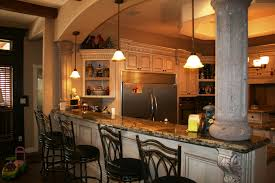 Kitchen With Bar Table - kitchen with bar counter design breakfast in the kitchen with