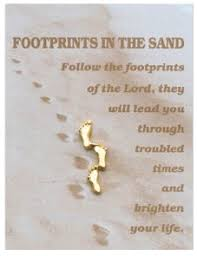footprints in the sand gifts direct from lourdes footprints in the sand brooch