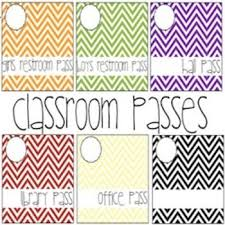 Printable Bathroom Passes The 25 Best Classroom Passes Ideas On Pinterest Hall Pass