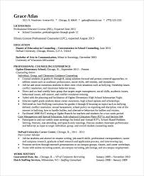 Sample Counselor Resume Elementary Counselor Resume Best Resume Collection