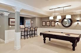basement paint color ideas basement contemporary with accent table