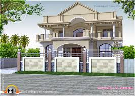 North Indian exterior house Indian House Plans