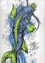 koi carp tattoo images drawn koi carp blue koi pencil and in color drawn koi carp blue koi